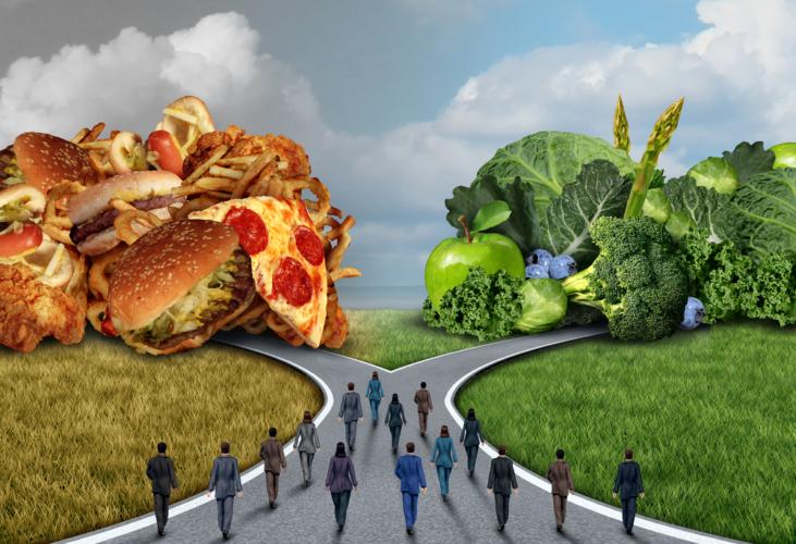 中年からの日頃の食生活には注意が必要です