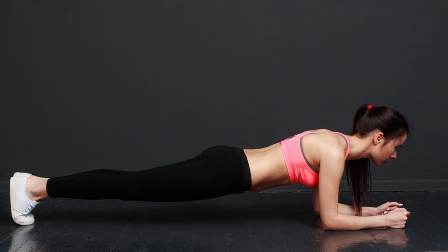 プランクでは腹筋やその周辺の体感部分も鍛えられる!
