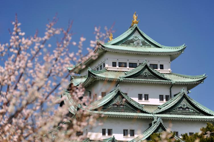 名古屋城が日本初の木造復元されました。
