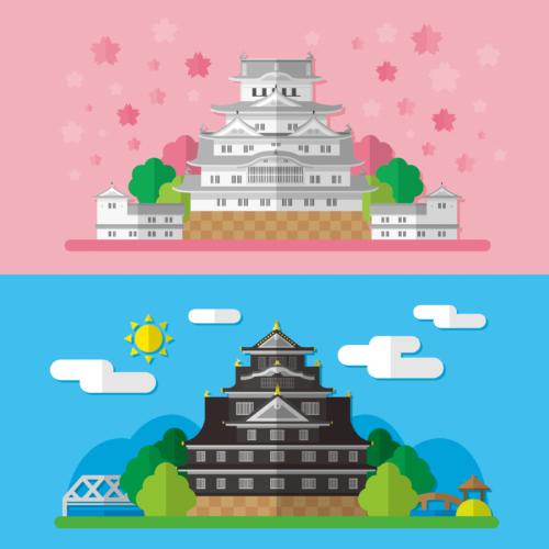 もともと日本のお城には天守閣はありませんでした。