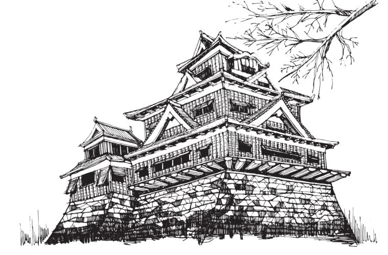 震災後の熊本城の今…