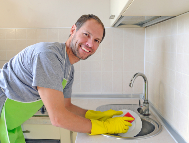 皿洗いが好きという人はけっこういる