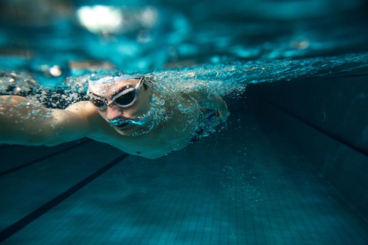 自分なりにタイムや距離を伸ばしていく楽しさを追求できる水泳