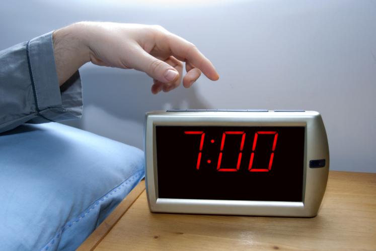 目覚まし時計のかけ方