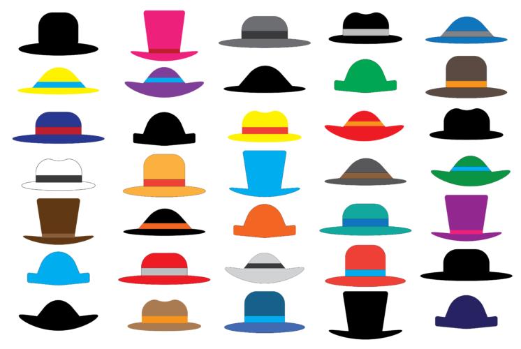帽子には様々な種類があります。それぞれに特徴的なイメージがあり、合わせ方も少しずつ違ってきます