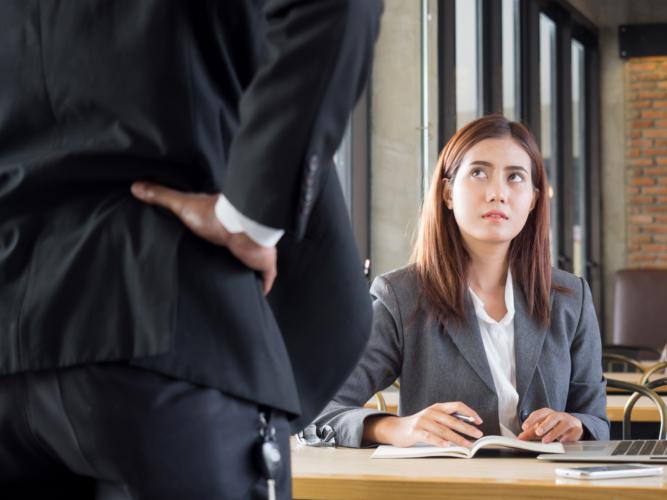 ドMな女性は怒られてもめげにくい傾向があります。