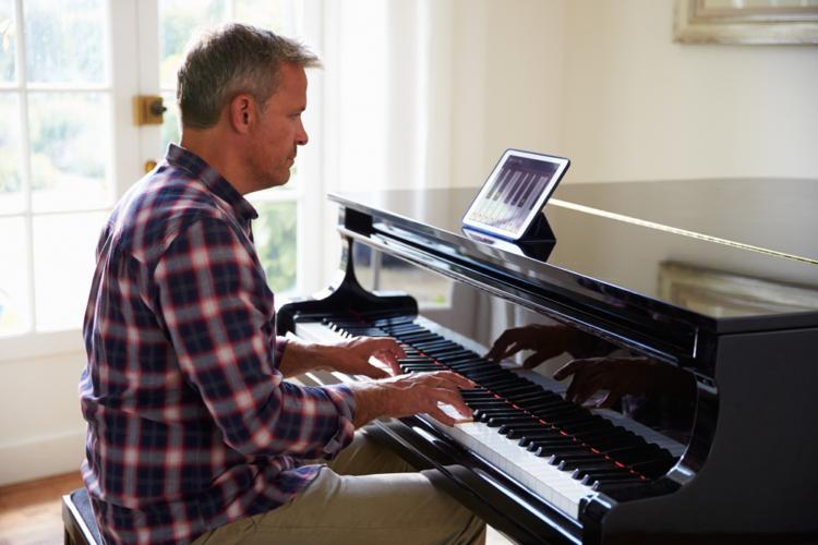 ピアノは練習の連続