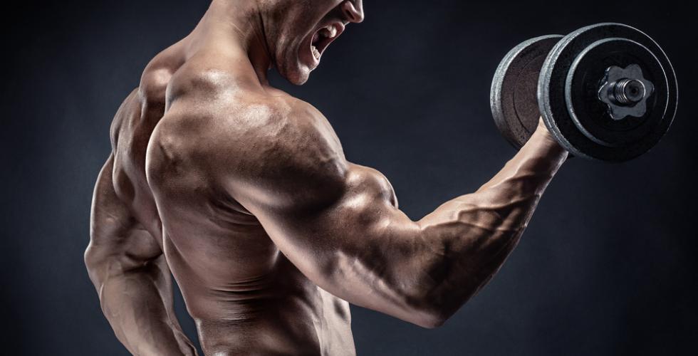 20回前後で同じく限界となるような重量設定でトレーニングを行うのが効果的