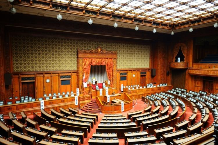 国会は3権分立体制における象徴的位置付け