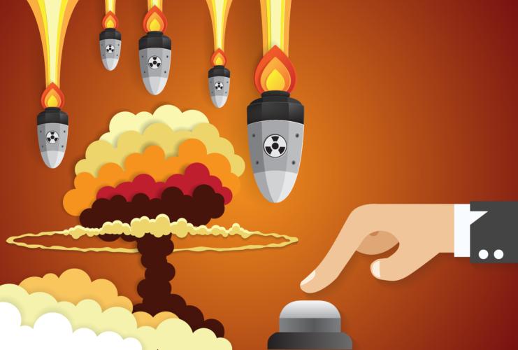 核戦争が起きた場合の展開は、人類滅亡以外の部分では推測に過ぎない