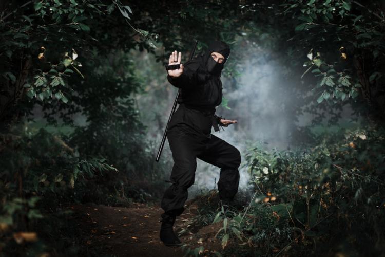 確かに忍者に関する記録は少ないですが、忍者は間違いなく実在しました。