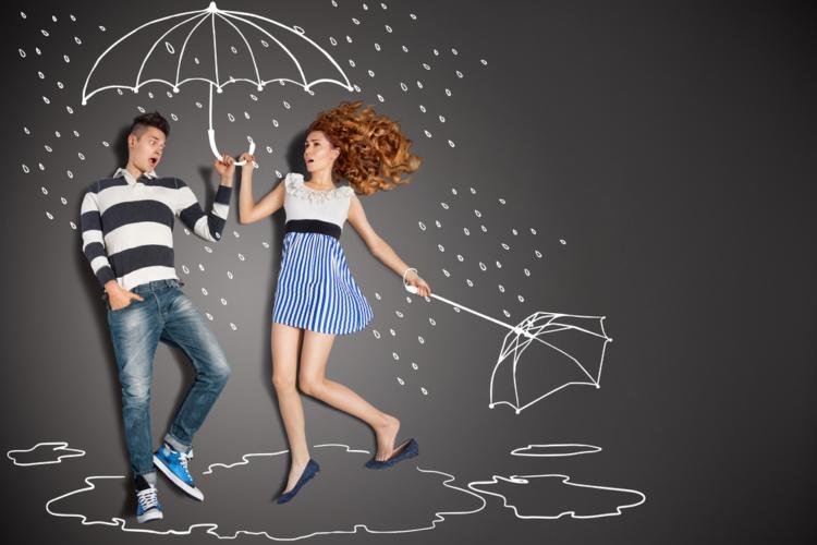 雨でがっくりせずにチャンスと切り替える