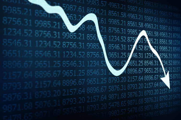 カルビー(2229)の株価が急落している