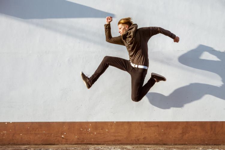 立ち幅跳びで心肺機能と脚力強化