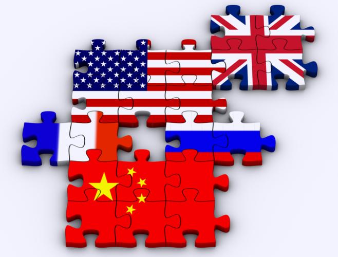 国際連合の安全保障理事会における常任理事国である5大軍事国家が核を独占していた時代