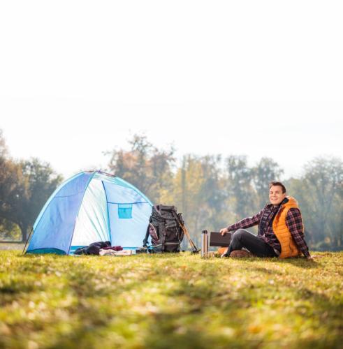 人気急上昇の「男のソロキャンプ」