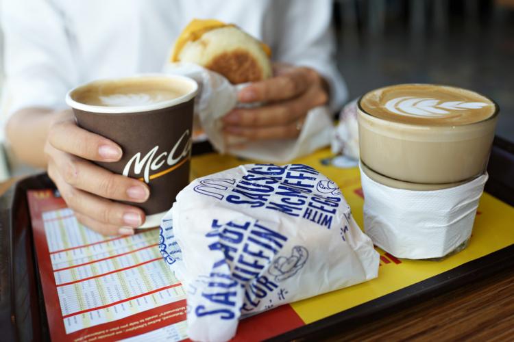 マクドナルドなどのハンバーガーチェーン店の活用