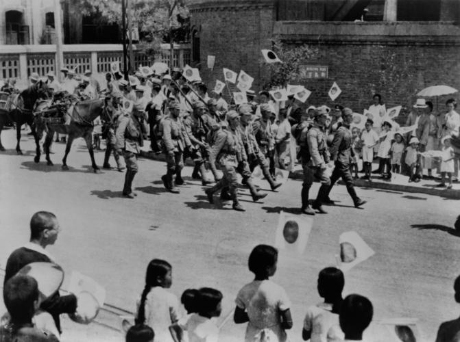 旧日本軍の暴走