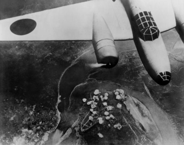 日中戦争のころの戦闘機「九七式戦闘機(キ27)」
