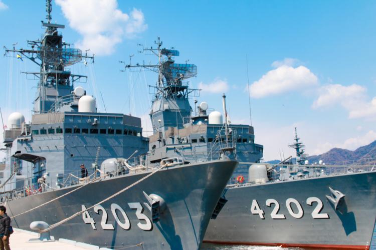 護衛艦や潜水艦は開発から造船まで国内で実施
