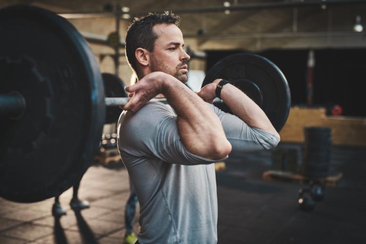 ハングクリーンで筋肉の連動性を高める