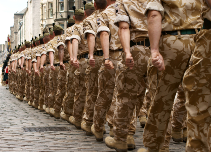 軍隊を持たない国