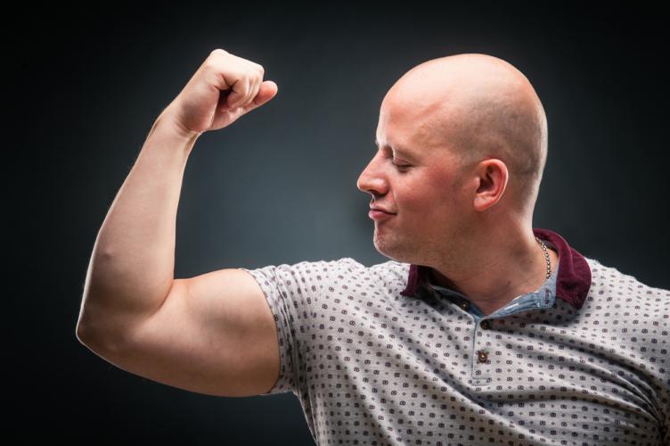 ハゲの原因である男性ホルモンは全身に影響を与えるものではない