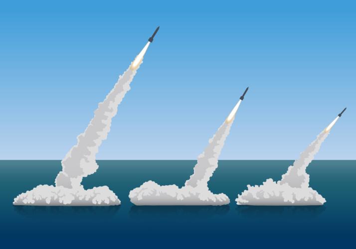 北朝鮮の潜水艦搭載弾道ミサイル