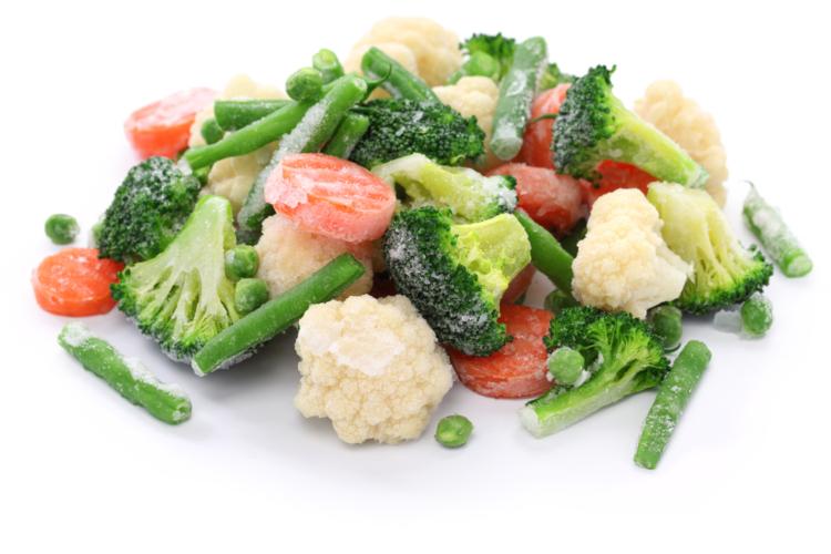 冷凍野菜・果物は実は健康に良かった
