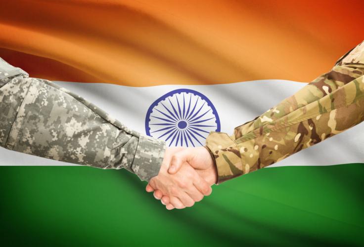 インド軍VS中国軍