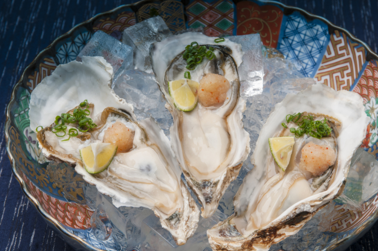 牡蠣の栄養を分析する