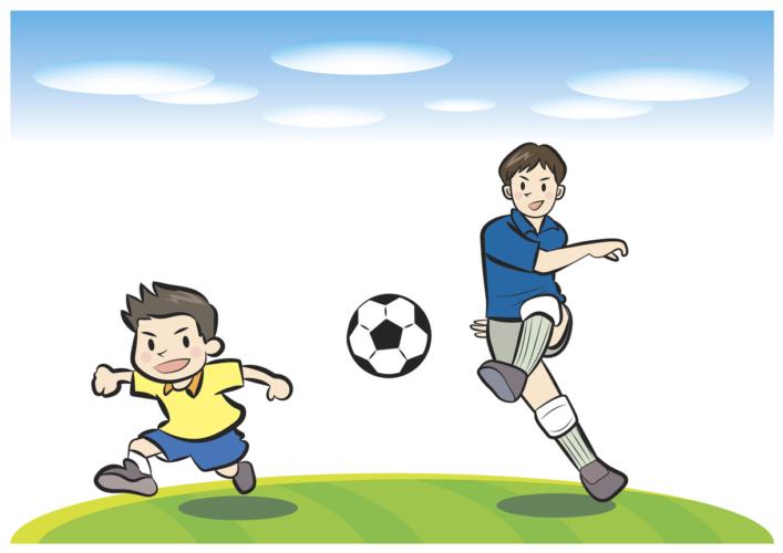 サッカーの難点を突く