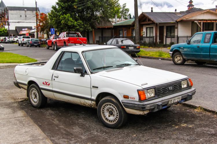 スバルブランドのピックアップトラック