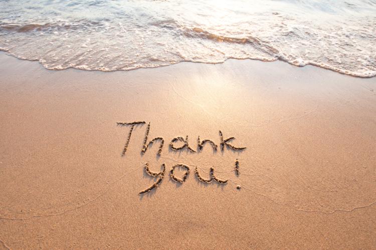 感謝の気持ちを言葉にできる