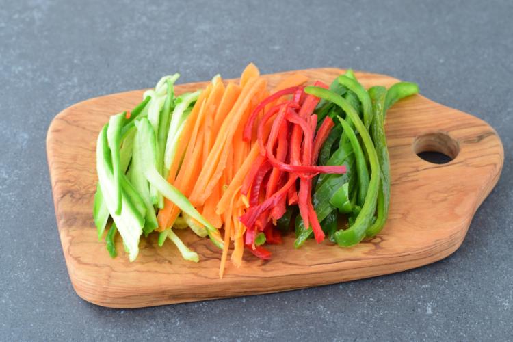 第2位 生野菜