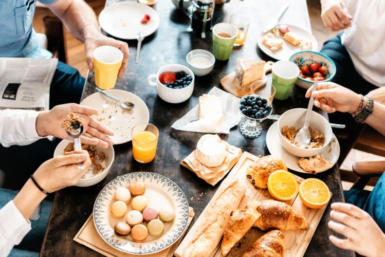 正しい朝食内容