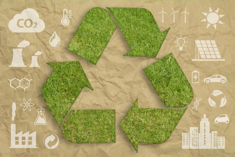 リサイクルに回すゴミ