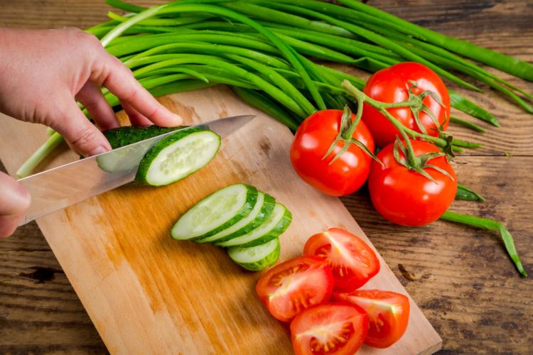 きゅうりとトマト
