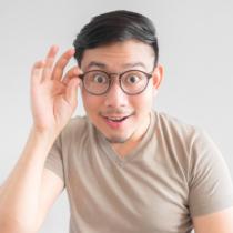 顔形によるおすすめ眼鏡