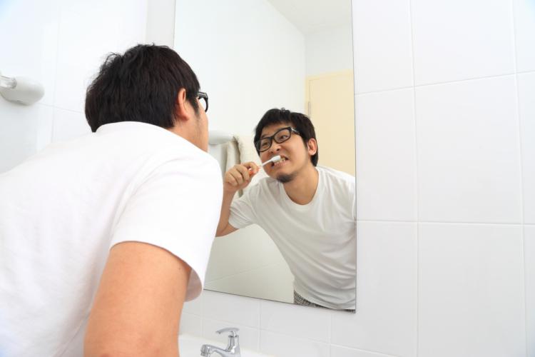 歯を磨くときにえずく