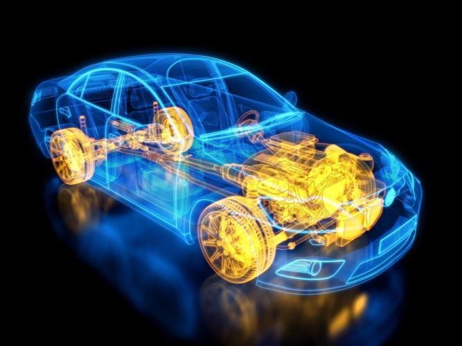 スーパーカーの駆動体制