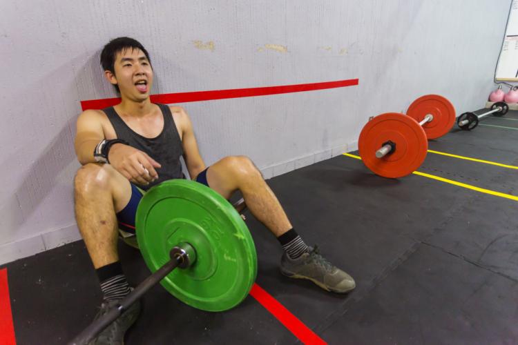 筋トレの強度や頻度が低い