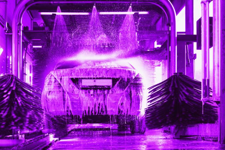 ドライブスルー洗車機の注意点