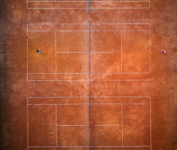 国内で最もテニスコートが多い場所は?