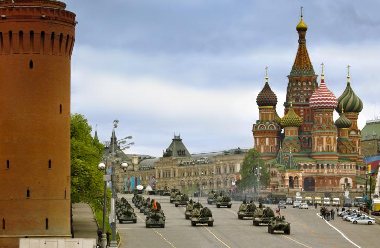 ロシアは昔から軍事大国