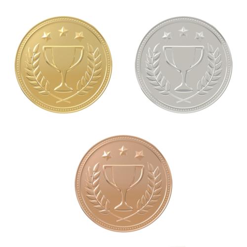 金メダルの材料