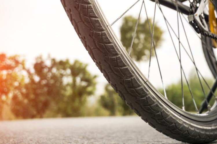 自転車のタイヤは重要