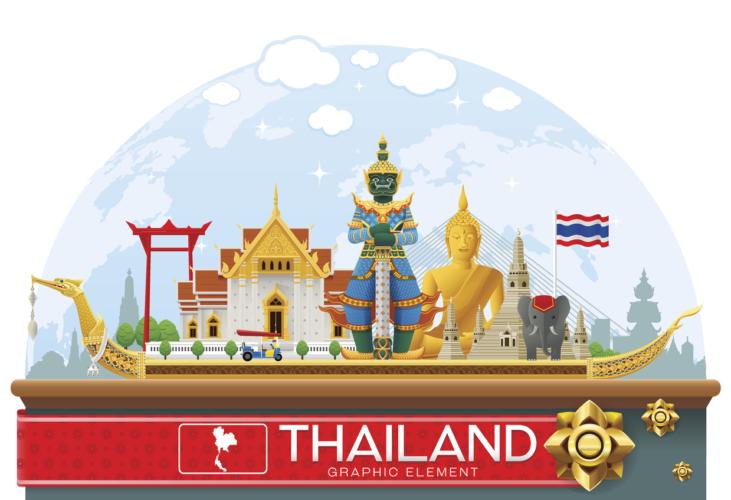 ASEANの主要国であるタイ!