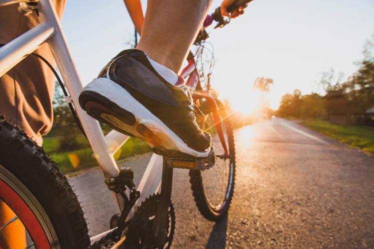 サイクリング中のトラブル…