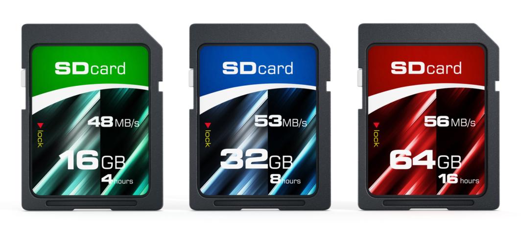 まずはSDカードの知識を高めておこう